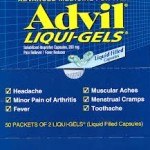 Advil Liquid Gel 50ct Box