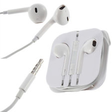 iphone 5 headphones with mic & volume control