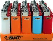 Mini Bic Lighters 50ct